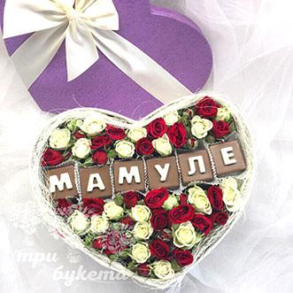 Кустовые розы ко Дню Матери
